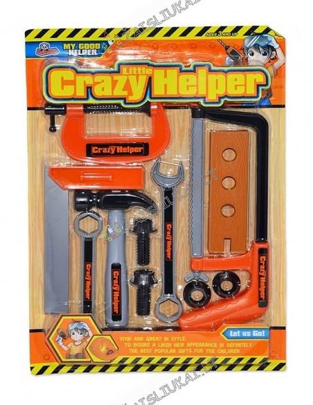Žaislinis darbo įrankių rinkinys
