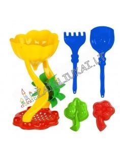 Malūnas su sieteliu - nuostabus smėlio žaislų rinkinys