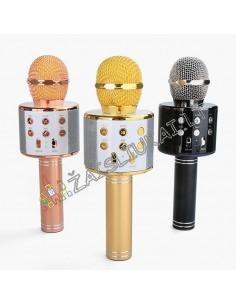 Karaoke mikrofonas suaugusiems ir vaikams su Bluetooth funkcija