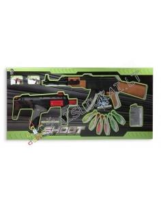 Žaisliniai ginklai šaudantis vandens kulkomis