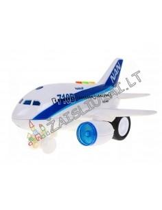 Tvirtas 20 cm keleivinis lėktuvas su MALONIAIS lėktuvo garsais