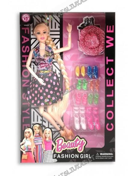 Barbies tipo 29 cm lėlė su batais