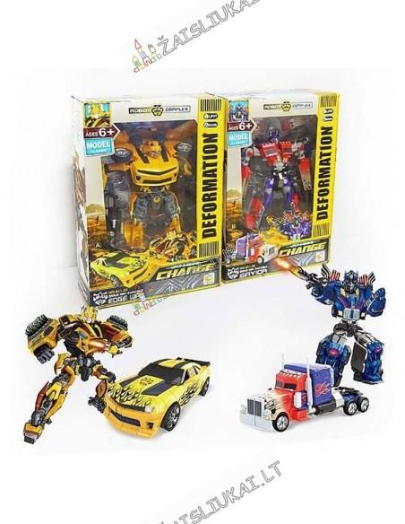 Transformers robotas sunkvežimis