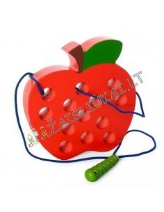 Medinis žaislas - vaisius su virvute ir viksriuku