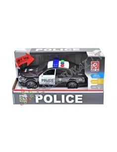 Policijos mašina su garsais ir šviesa