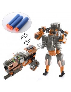 Robotas - transformeris - pistolėtas