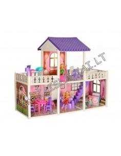 Lėlių namas su baldais