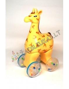 """Lavinamasis žaislas """"Riedanti žirafa"""""""