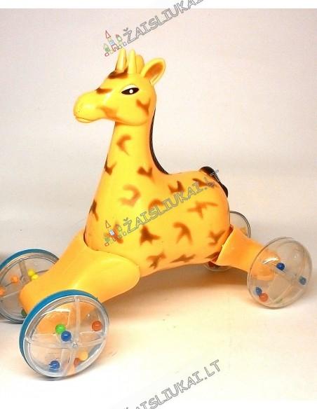 Lavinamasis žaislas Riedanti žirafa