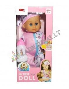 Lėlė - kūdikis su rupinimosi priemonemis