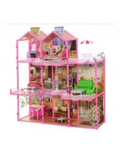 "Lėlių namas ""My Lovely Villa"" su baldais"