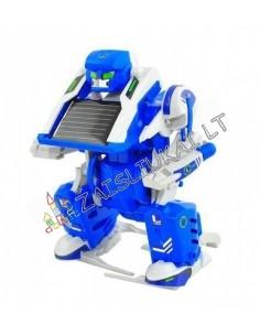 Konstruktorius su saulės baterija Robotizuoti kosminiai modeliai 3in1