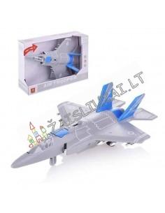 Vaikiškas lėktuvas - naikintuvas 1:16