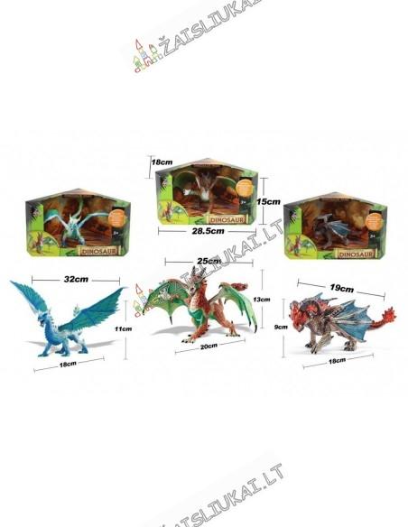 Plastikinis drakonas