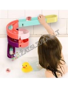 Žaislas į vonią - vandens čiuožykla