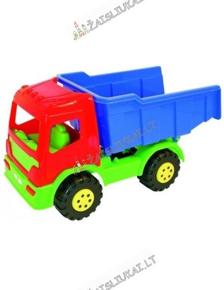 Žaislinė mašina - sunkvežimis savivartis