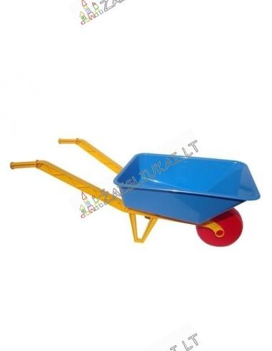 Vaikiškas plastikinis karutis žaidimams lauke