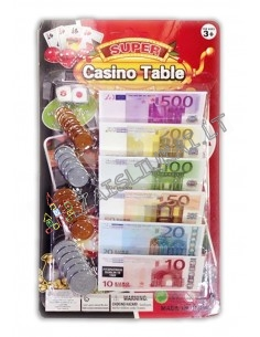 Žaisliniai EURO pinigai