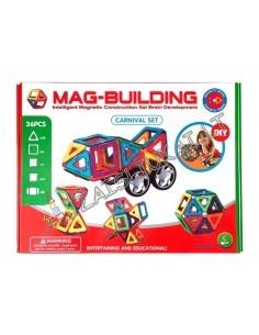 Magnetinis konstruktorius 36 detalių