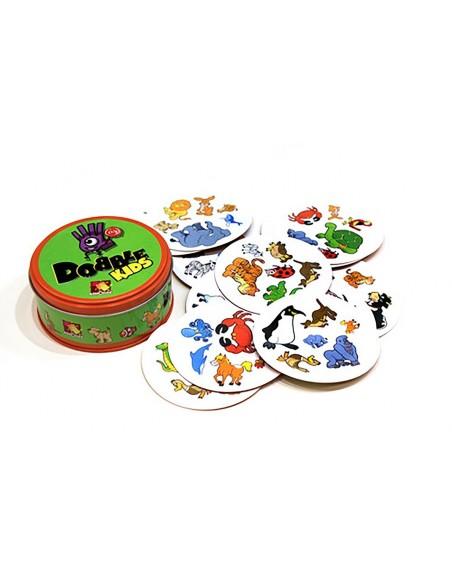 Žaidimas su gyvūnų vaizdais Dobble Kids
