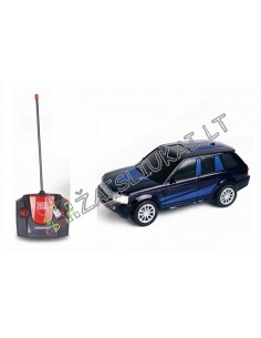 Radio bangom valdomas Land-Rover automobilis
