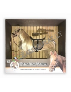 Barbės augintinis - Žaislinis arklys su priedais