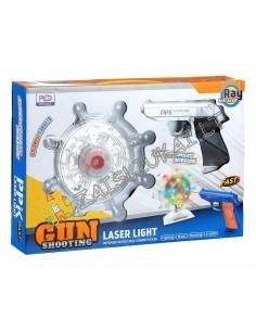 Šaudymo tiras namuose - Lazerinis pistoletas su taikiniu