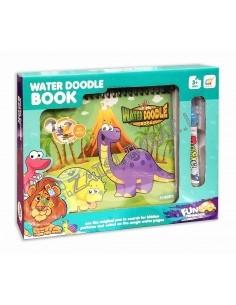 """Spalvinimo knyga su vandeniniu rašikliu """"Dinozaurai"""""""