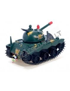 Karinė technika vaikams - judantis žaislinis tankas su garsais