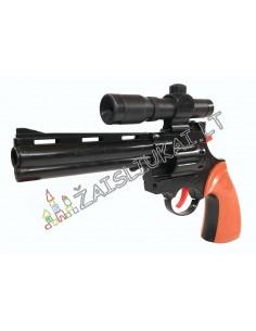 Revolveris su taikiniu 8 pistonams