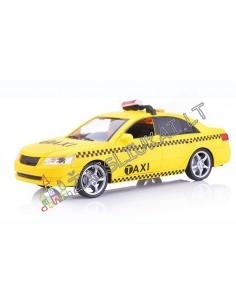"""Plastikinis tvirtas taksi modeliukas 1:16 """"Miesto servisas"""""""