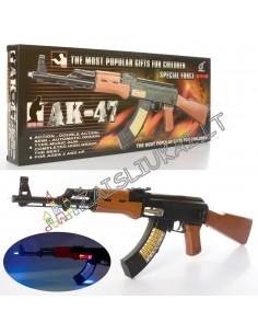Karinis armijos ginklas - tikroviškai atrodantis berniukų žaislas su garsais ir šviesos efektais