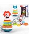 Žaislas mažyliams - didėlis linguoliukas su piramidė