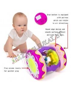 """Smart žaislai - Mokomasis muzikinis žaislas """"Būgnas karuselė"""""""