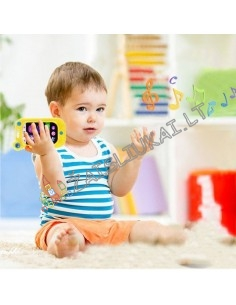 Išmanus žaislas mažyliams - telefonas su segtuku