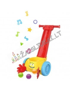 Muzikinis stumdukas su kamuoliais mažyliams