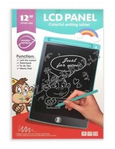 LCD rašymo lentai su 12 colių įstrižainės ekranu