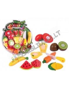 Pjaustomų vaisių rinkinys iš 7 dalių