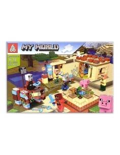 Analogas LEGO Konstruktorius My World 585 dalių