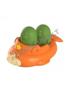 Žaislų rinkinys į vonią - ruoniai