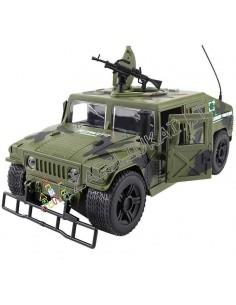 """Karinis džipas """"Hummer H1"""" su garsais ir šviesa"""