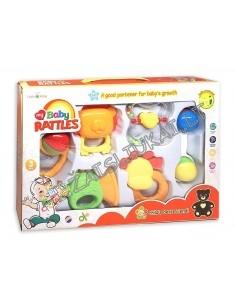 Barškučių rinkinys - pirmieji kūdikių žaislai