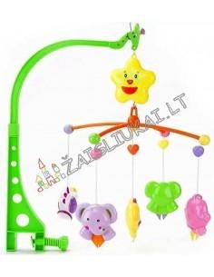 Žaislai kūdikiams - Lovytės karuselė