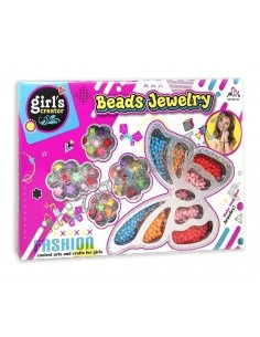 """Karoliukų rinkinys """"Beads Jewelry"""" unikaliems papuošalams gaminti"""