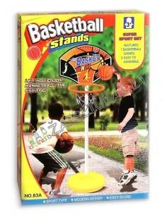 Pastatomas krepšinio lankas su stovu 105 cm