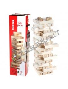 Stalo žaidimas JENGA - skaičiai