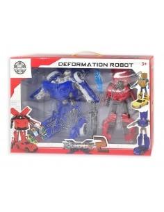 Filmukų personažai - Du Robotai - Transformeris