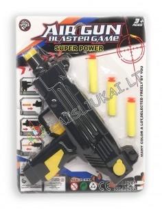 Vaikiškas orinis ginklas su minkštomis kulkomis
