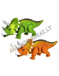 Dinozauras su garsais ir šviesomis