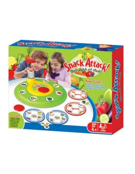 Stalo žaidimas - Užkandžių ataka